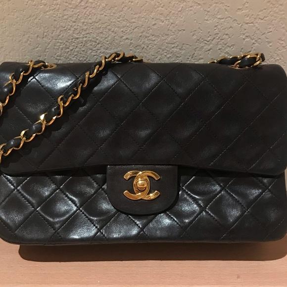 7eae96b6135f CHANEL Bags   Rare 9 Inch Double Flap Bag   Poshmark